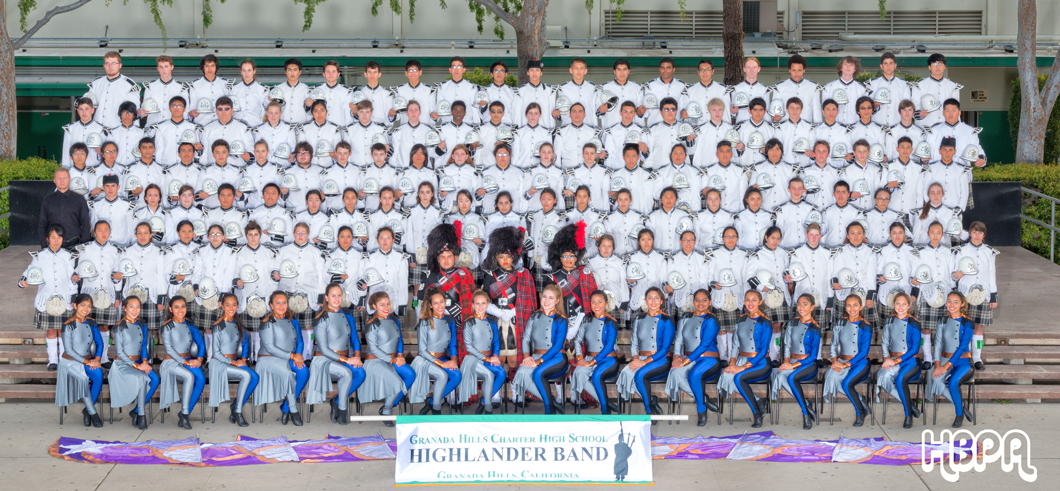Granada Hills Highlander Marching Band